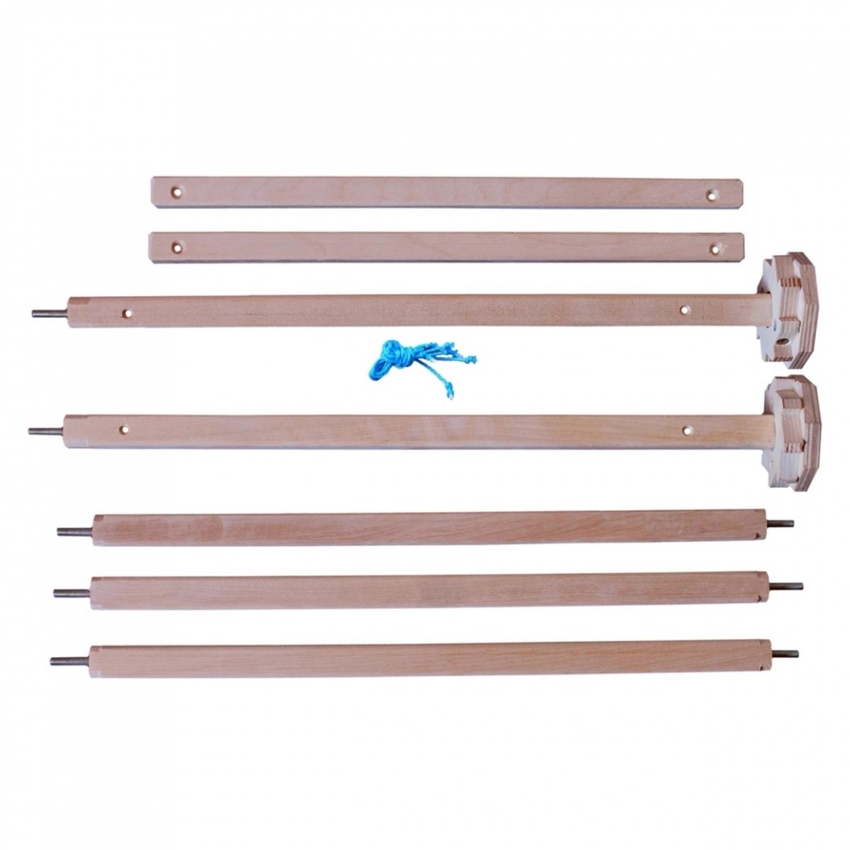 Set of shafts for rigid heddle loom