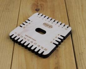 Kumihimo square plate